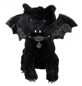 Chat en Peluche 'Bat Cat' Noir