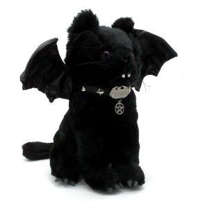 Chat en Peluche 'Bat Cat' Noir