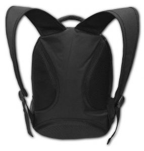 Black 'Samourai' Back Pack with Laptop Pocket