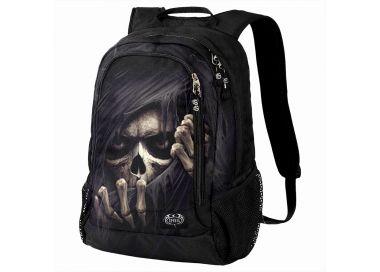 Sac à Dos 'Grim Ripper' Noir avec Poche pour Laptop