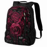 Sac à Dos 'Blood Rose' Noir avec Poche pour Laptop