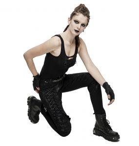 Pantalon 'Wasteland' Noir pour Femmes