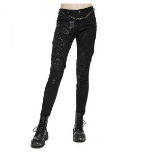 Black Denim 'Wasteland' Female's Pants