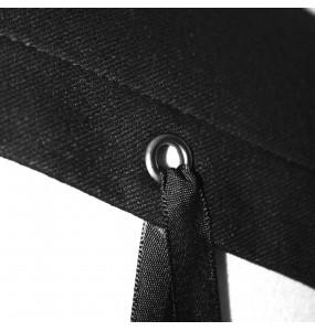 Black 'Satori' Sleeveless Top