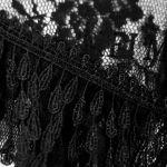 Black 'Mystic' Short Sleeves Top