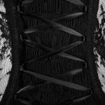 Top à Manches Courtes 'Mystic' Noir