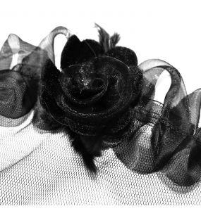 Body Gothique 'Medusa' Noir