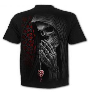 T-Shirt Manches Courtes 'Forbidden' Noir