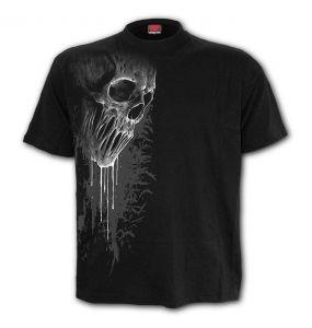 Black 'Bat Curse' T-Shirt