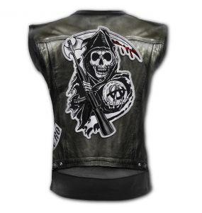 T-Shirt Sans Manches 'Jax Wrap' Noir