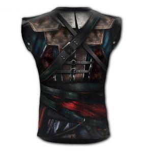 Black 'Assasins Creed' Sleeveless T-Shirt