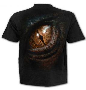 T-Shirt Manches Courtes 'The Hobbit - Smaug' Noir
