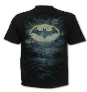 T-Shirt Manches Courtes 'Batman - Call of the Night' Noir