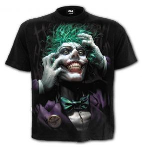 T-Shirt Manches Courtes 'Joker - Freak' Noir