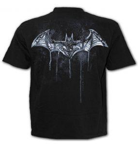 T-Shirt Manches Courtes 'Batman - Nocturnal' Noir