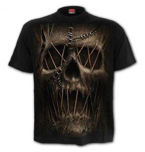 Black 'Thread Scare' T-Shirt