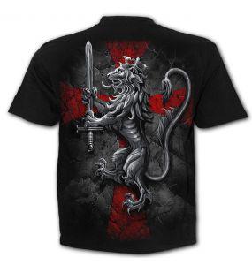 Black 'Valiant' T-Shirt