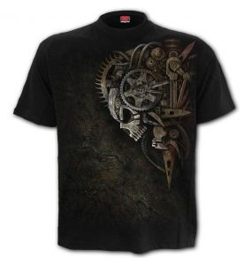 Black 'Diesel Punk' T-Shirt