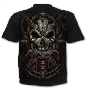 T-Shirt Manches Courtes 'Diesel Punk' Noir