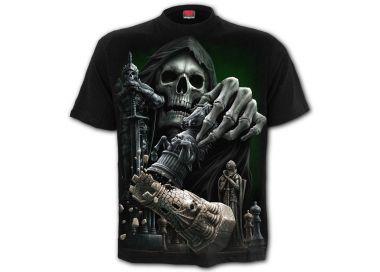 Black 'Checkmate' T-Shirt