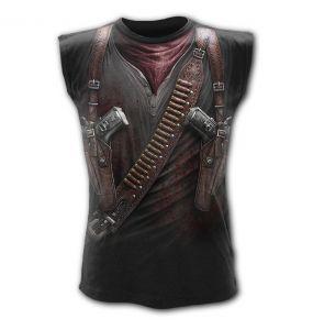 T-Shirt Sans Manches 'Holster Wrap' Noir