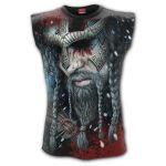 T-Shirt Sans Manches 'Viking Wrap' Noir
