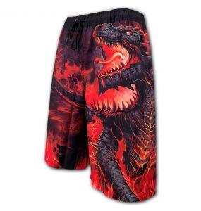 Black 'Draconis' Swim Shorts