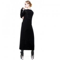 Black Long Cardigan 'Mystic'