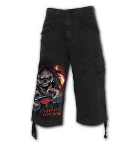 Pantalon ¾ Vintage 'Respawn' Noir