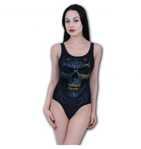 Black 'Black Gold' Swimsuit