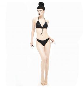Black 'Willow' Bikini Top