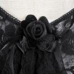 Black Lace 'Ophelia' Night Dress