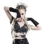 Women's 'Queen of Dark' Gothic Gloves