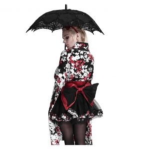Black 'Fairy' Gothic Lolita Umbrella