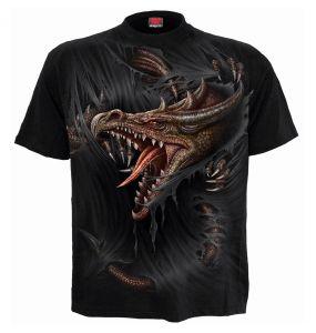 T-Shirt Manches Courtes pour Enfants 'Breaking Out' Noir