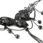 Black 'Roses' Choker