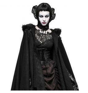 Black Lace 'Medicis' Neck Collar