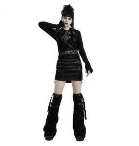 Mini-Jupe 'Laced Doll' Noire