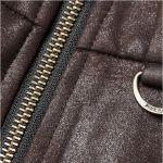 Brown 'Norra' Steampunk Mini-Skirt