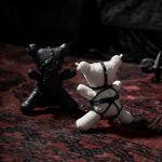 White Gothic Dark Taboo Bear