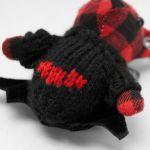 Gothic Red Bat Bear