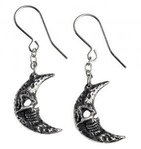 Boucles d'Oreilles 'M'era Luna Crescens - Tragicom Moon'