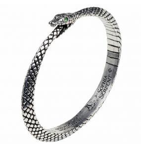 'The Sophia Serpent' Bangle