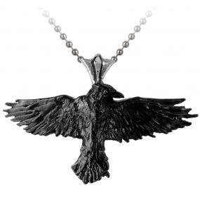 Pendentif 'Black Raven'