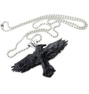 Black Raven Pendant