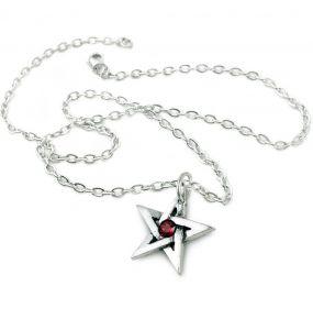 Pendentif 'Crystal Pentagram'
