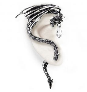 Crystal Dragon Ear-Wrap
