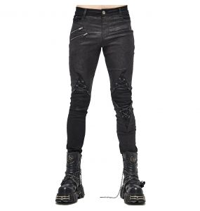 Black 'New Order' Pants
