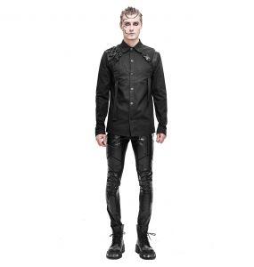 Black 'Cyberpunk' Shirt