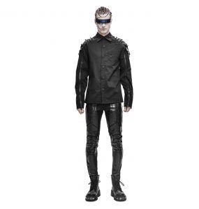 Chemise 'Cyberpunk' Noire